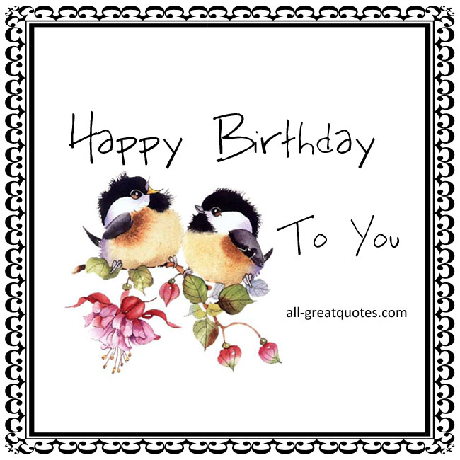 Happy Birthday 2 You Free Cards For Facebook
