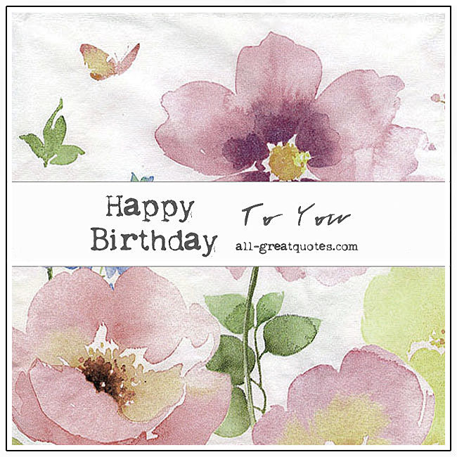 Free Birthday Cards For Facebook | Happy Birthday