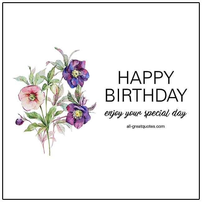 Happy Birthday Free Cards For Facebook