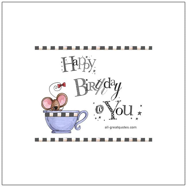 Happy Birthday To You Free Birthday Cards For Facebook