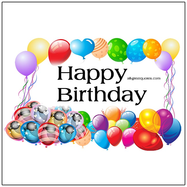 Happy Birthday | Share Free Birthday Cards For Facebook