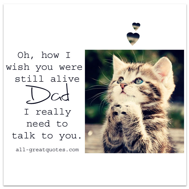 Oh, how I wish you were still alive Dad | Grief Loss Dad