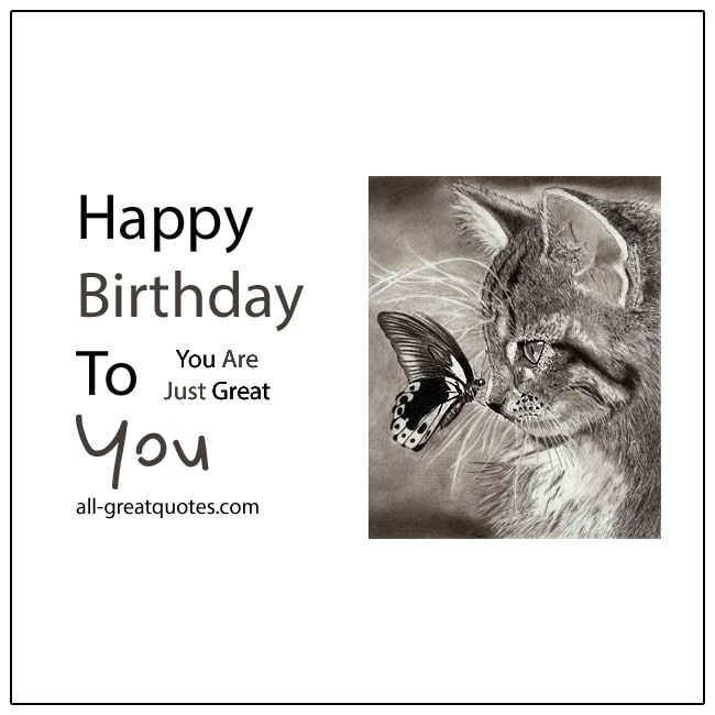 Happy Birthday You Are Great Free Birthday Cards For Facebook
