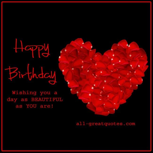 Happy 24th Birthday You Are A Beautiful Loving: Happy-Birthday-Wishing-you-a--day-as-BEAUTIFUL-as-YOU-are