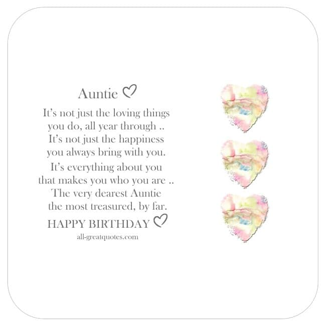 share_aunt_birthday_cards_it_isnt_just_the_loving_things_you_do