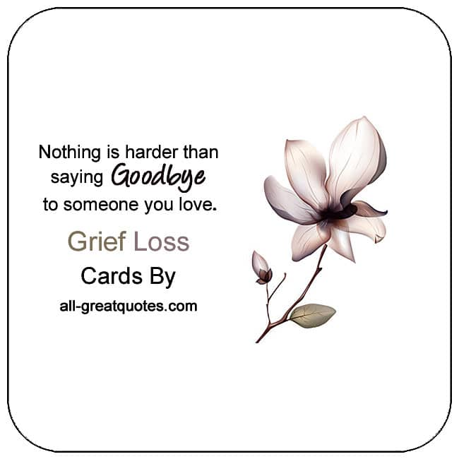 Cards For Grief Coping With Grief And Loss Cards