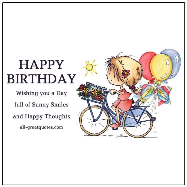 Happy Birthday Wishes For Kids Birthday Cards. Kids
