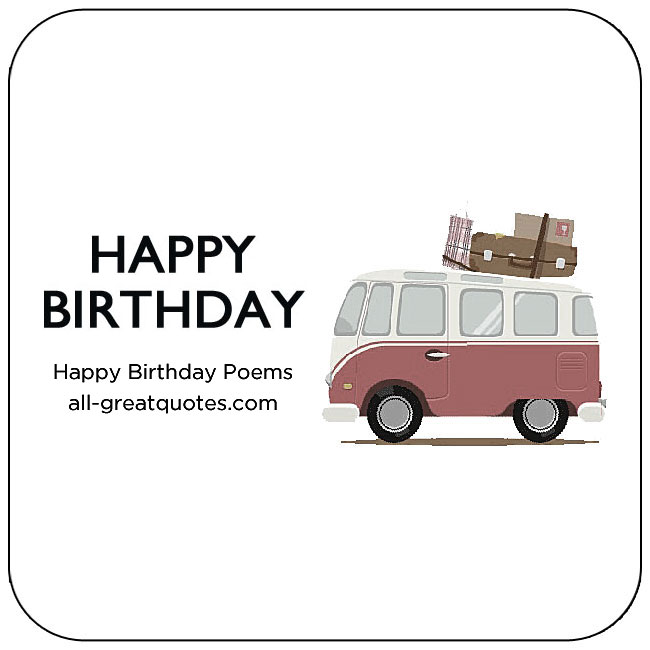 Beautiful Birthday Poems For Birthday Poems Messages