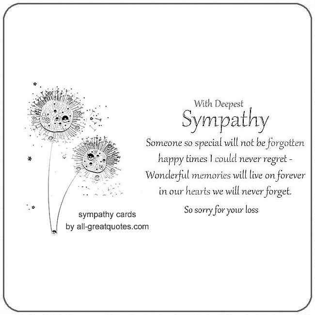 heartfelt sympathy cards for facebook pet sympathy card