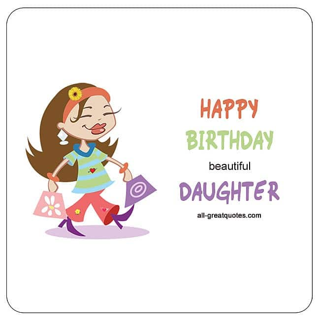Daughter Birthday Wishes For Daughter Birthday Poems