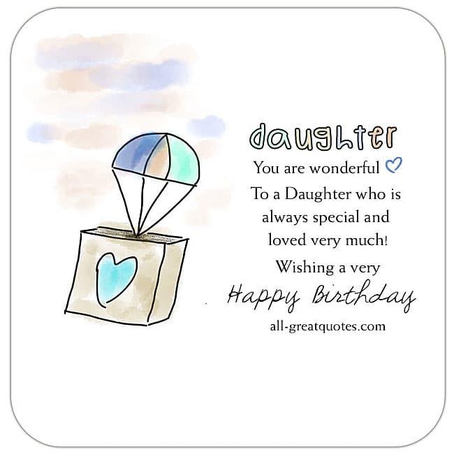 Happy Birthday Daughter Happy Birthday Wishes