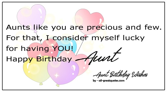 best aunt birthday wishes for aunt birthday cards