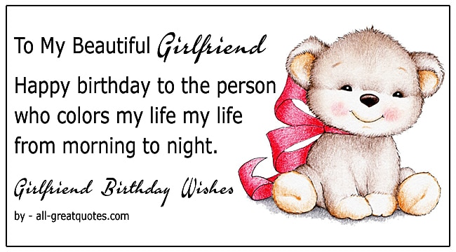 girlfriend happy birthday wishes girlfriend