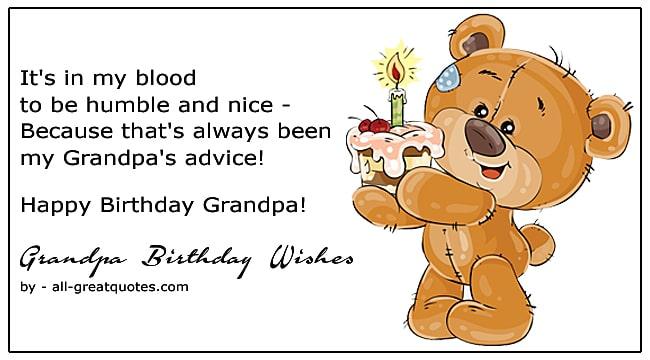 grandpa happy birthday wishes