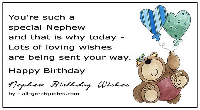Best Nephew Happy Birthday Wishes To Write