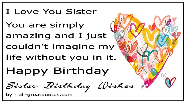 Best Happy Birthday Sister Wishes To Write