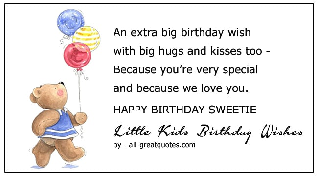cute birthday poems for kids birthday wishes little kids