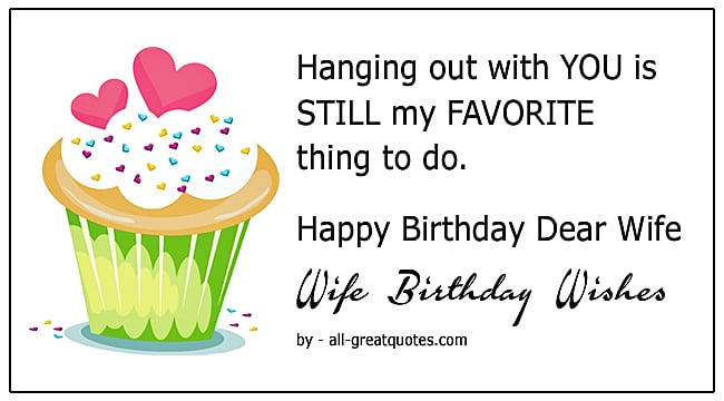 Happy Birthday Dear Wife Birthday Wishes To Write