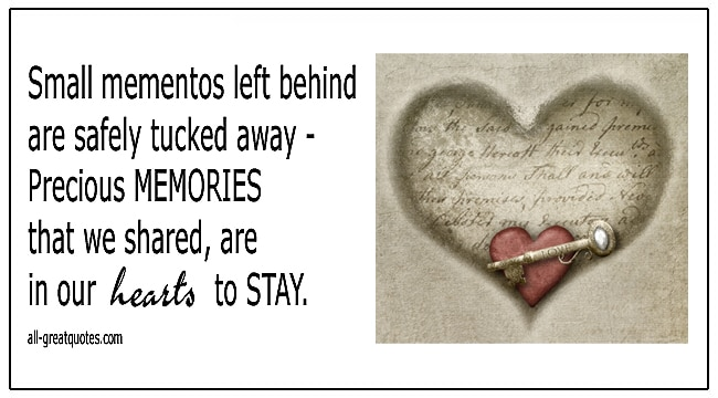 Memorial Poems Precious Memories That We Shared In Our Hearts To Stay