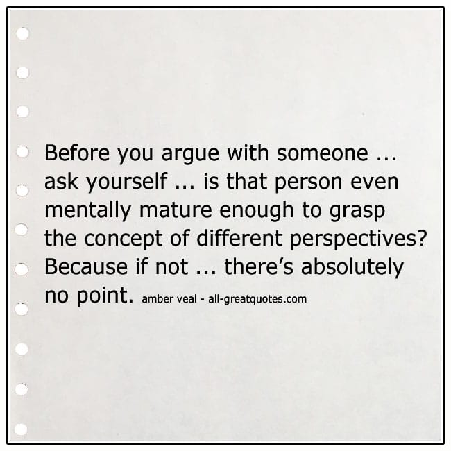 Before You Argue With Someone Quote