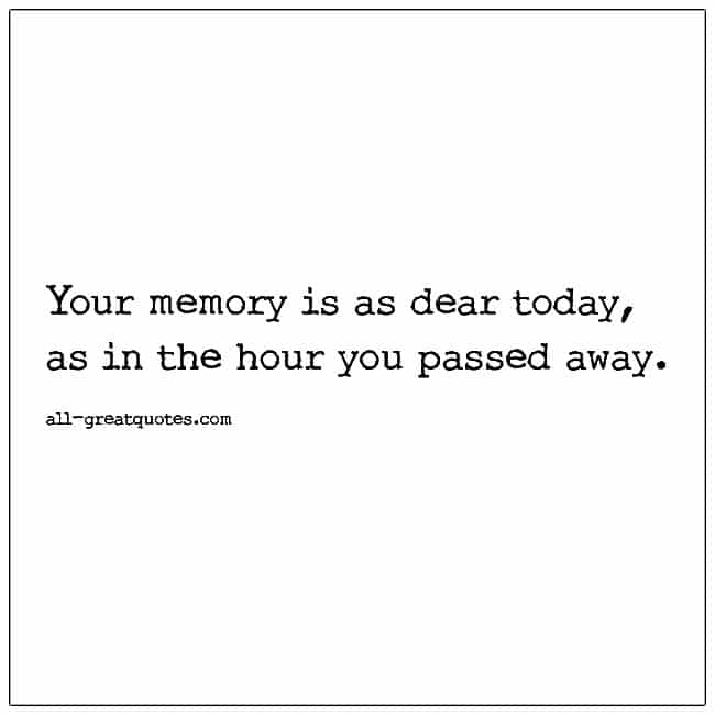 Your-Memory-Is-As-Dear-Today-Grief-Verse-Card
