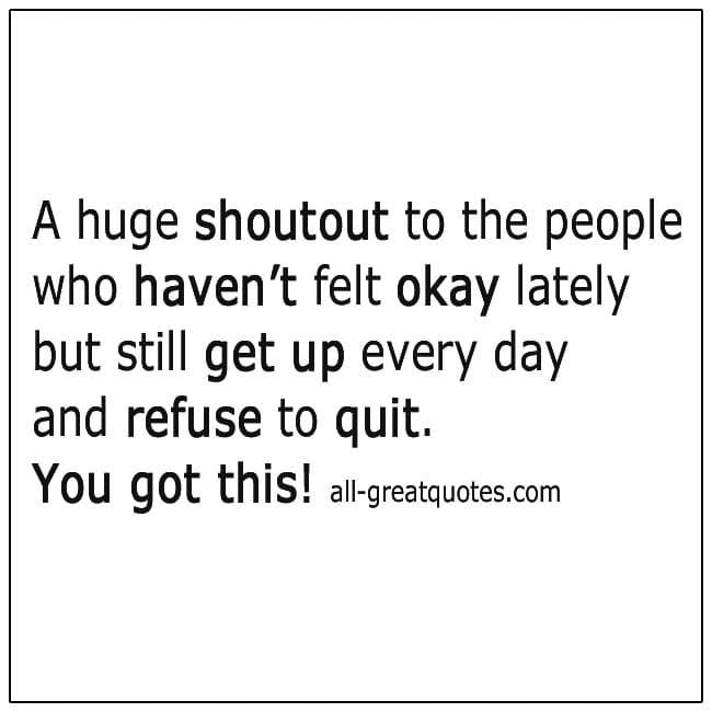 Refuse To Quit Quote